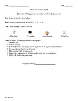 Fitness Scenario Project