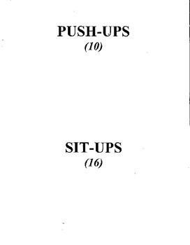 Fitness Spelling