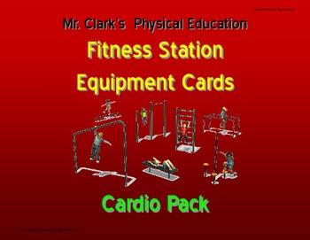 Fitness Station Cards Bundle Pack