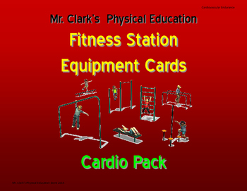 Fitness Station Cards Cardio Pack