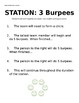 Fitness Stations Set 1 with Fitness Gram