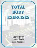 Exercise Task Cards: Total Body