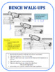 Fitness Test Training Cards: Four Fitness Tests