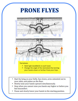 Fitness Test Training Cards: Push-Up Test