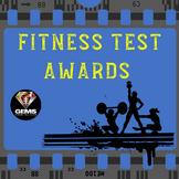 PE Fitness Testing Awards!