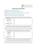 Fitness Testing S.M.A.R.T. Goal Worksheet