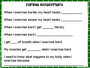 Fitness Tic-Tac-Toe for Physical Education, Elementary