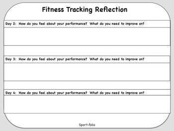 Fitness Tracking - Editable (3d)