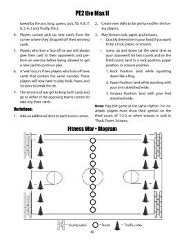 Fitness War PE Game