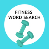 Fitness Word Search