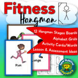 Fitness and Skill Themed Hangman for Physical Education, E
