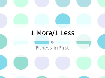Fitness in First: Add/Subtract 1