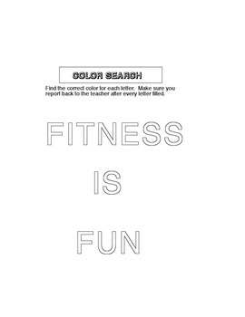 Physical Education - Fitness is Fun
