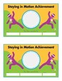 FitnessWurx Achievement Certificate