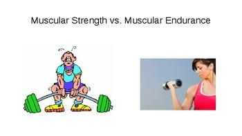 Fitnessgram Muscular Strength and Endurance Powerpoint