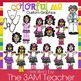 Fitting In / Colorful Me Clip Art Set