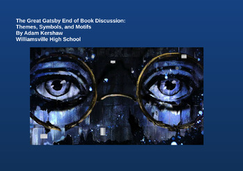 Fitzgerald's The Great Gatsby--Themes, Symbols, and Motifs (End of Book PREZI)
