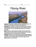 Fitzroy River - Australia - Review Article Facts Questions Vocabulary