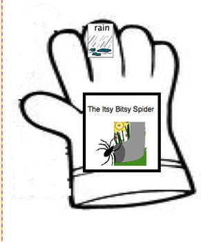 Five (5) Little Monkeys Glove Story-Autism