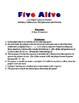 Five Alive - A 2-Player Game to Practice Divisibility of 5