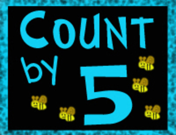 Five Alive!  Math Counting by Five