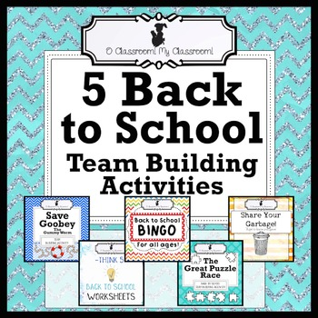 Five Back to School Team Building Activities - Perfect for Upper Elementary!