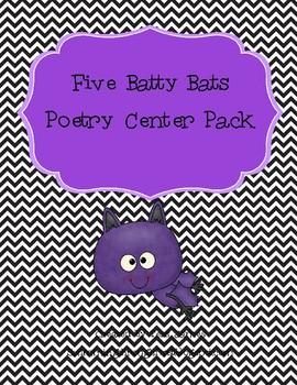 Five Batty Bats Poetry Center Pack