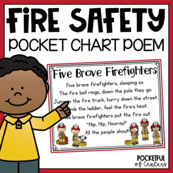 Fire Safety Pocket Chart