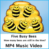 Five Busy Bees Music Video