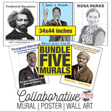 Five Collaborative Murals | Black History Month Art Projec