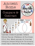 Five Compare Contrast Worksheets Ancient Rome
