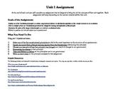 Five Constitutional Principles: Principle Analysis Assignment