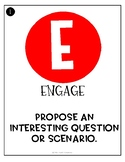 Five E's Posters - NGSS