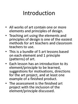 Five Easy Art Lessons for Back to School