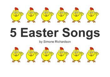 Five Easy Easter Songs