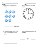 Five Easy Steps Math Review Grade 1