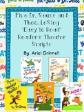 "Five ""Easy-to-Read"" Dr. Seuss and Theo LeSieg Reader's The"
