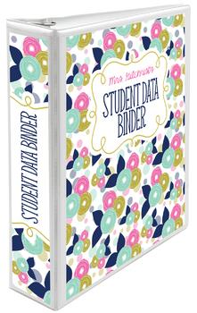 Five Editable Binder Cover Sets - Great for Teacher Binders, Data Binders & MORE