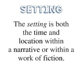 Five Elements of a Narrative