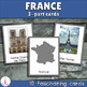 Montessori Five European Countries 3-part Cards Bundle