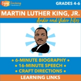Five Fabulous Classroom Clickables for January - Martin Luther King Junior