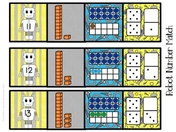 Five Fabulous Robot Math Centers