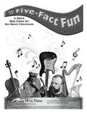 Five-Fact Fun: Styles of Music
