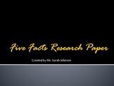 Five Facts Alternative Research Paper
