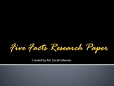 Five Facts Alternative Research Paper