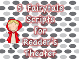 Five Fairytale Scripts for Reader's Theater, Short Plays, Drama Bundle