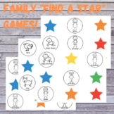 """Five Family """"Find a Star"""" boards plus covers!"""