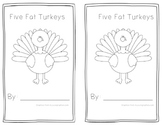 Five Fat Turkeys Book