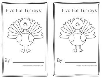 Five Fat Turkeys Book