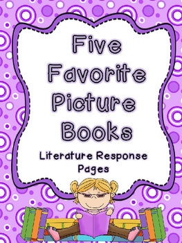 CCSS Literature Response Pages